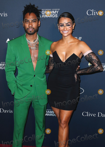Clive Davis Photo - BEVERLY HILLS LOS ANGELES CALIFORNIA USA - JANUARY 25 Miguel and Nazanin Mandi arrive at The Recording Academy And Clive Davis 2020 Pre-GRAMMY Gala held at The Beverly Hilton Hotel on January 25 2020 in Beverly Hills Los Angeles California United States (Photo by Xavier CollinImage Press Agency)