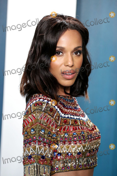 Kerry Washington Photo - BEVERLY HILLS LOS ANGELES CALIFORNIA USA - FEBRUARY 09 Kerry Washington arrives at the 2020 Vanity Fair Oscar Party held at the Wallis Annenberg Center for the Performing Arts on February 9 2020 in Beverly Hills Los Angeles California United States (Photo by Xavier CollinImage Press Agency)