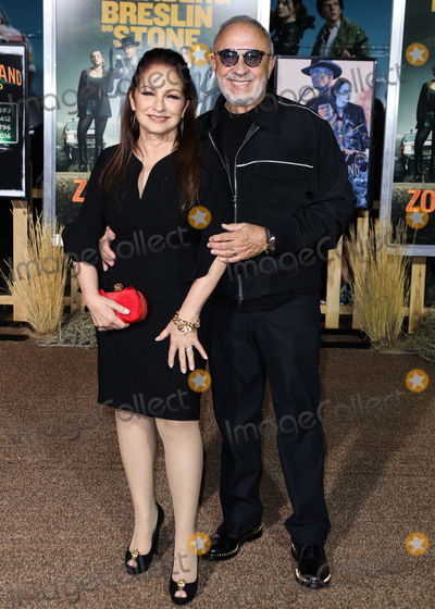 Emilio Estefan Photo - WESTWOOD LOS ANGELES CALIFORNIA USA - OCTOBER 10 Gloria Estefan and Emilio Estefan arrive at the Los Angeles Premiere Of Sony Pictures Zombieland Double Tap held at the Regency Village Theatre on October 10 2019 in Westwood Los Angeles California United States (Photo by David AcostaImage Press Agency)