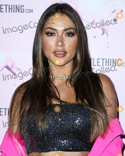 Arianny Celeste Photo - LOS ANGELES CA USA - FEBRUARY 20 Model Arianny Celeste arrives at the PrettyLittleThing Los Angeles Office Opening Party held at the PrettyLittleThing Los Angeles Office on February 20 2019 in Los Angeles California United States (Photo by Xavier CollinImage Press Agency)