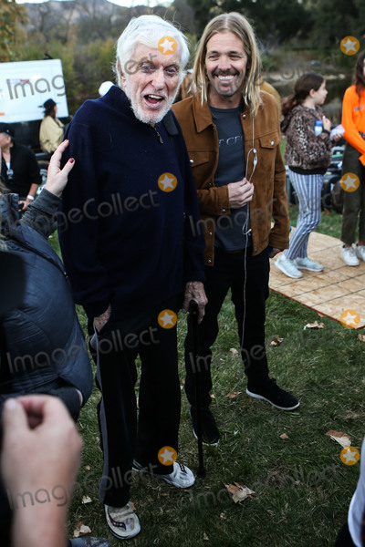 Dick Van Dyke Photo - CALABASAS LOS ANGELES CA USA - DECEMBER 02 Dick van Dyke and Taylor Hawkins at the One Love Malibu Festival Benefit Concert For Woolsey Fire Recovery held at the King Gillette Ranch on December 2 2018 in Calabasas Los Angeles California United States (Photo by Xavier CollinImage Press Agency)