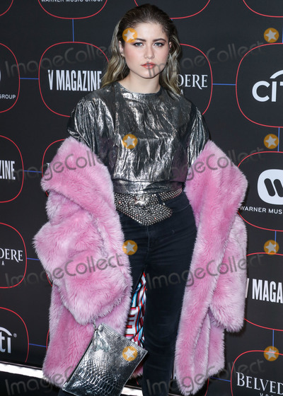 Madness Photo - LOS ANGELES CA USA - FEBRUARY 07 Singer Sofia Reyes arrives at the Warner Music Pre-Grammy Party 2019 held at The NoMad Hotel Los Angeles on February 7 2019 in Los Angeles California United States (Photo by Xavier CollinImage Press Agency)