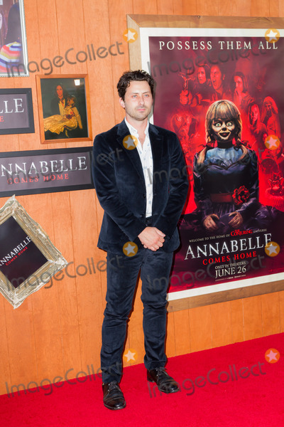 Andy Bean Photo - WESTWOOD LOS ANGELES CALIFORNIA USA - JUNE 20 Andy Bean arrives at the Los Angeles Premiere Of Warner Bros Annabelle Comes Home held at Regency Village Theatre on June 20 2019 in Westwood Los Angeles California United States (Photo by Rudy TorresImage Press Agency)