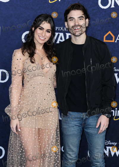 Ashley Iaconetti Photo - HOLLYWOOD LOS ANGELES CALIFORNIA USA - FEBRUARY 18 Ashley Iaconetti and Jared Haibon arrive at the World Premiere Of Disney And Pixars Onward held at the El Capitan Theatre on February 18 2020 in Hollywood Los Angeles California United States (Photo by Xavier CollinImage Press Agency)