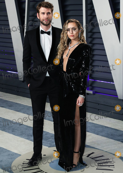 Miley Cyrus Photo - (FILE) Miley Cyrus and Liam Hemsworth Split BEVERLY HILLS LOS ANGELES CALIFORNIA USA - FEBRUARY 24 Singer Miley Cyrus and husbandactor Liam Hemsworth arrive at the 2019 Vanity Fair Oscar Party held at the Wallis Annenberg Center for the Performing Arts on February 24 2019 in Beverly Hills Los Angeles California United States (Photo by Xavier CollinImage Press Agency)