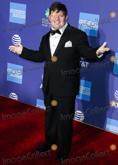 Zack Gottsagen Photo - PALM SPRINGS CALIFORNIA USA - JANUARY 02 Zack Gottsagen arrives at the 31st Annual Palm Springs International Film Festival Awards Gala held at the Palm Springs Convention Center on January 2 2020 in Palm Springs California United States (Photo by Xavier CollinImage Press Agency)