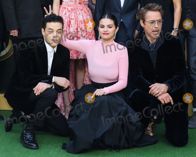 Selena Gomez Photo - WESTWOOD LOS ANGELES CALIFORNIA USA - JANUARY 11 Rami Malek Selena Gomez and Robert Downey Jr arrive at the Los Angeles Premiere Of Universal Pictures Dolittle held at the Regency Village Theatre on January 11 2020 in Westwood Los Angeles California United States (Photo by Xavier CollinImage Press Agency)