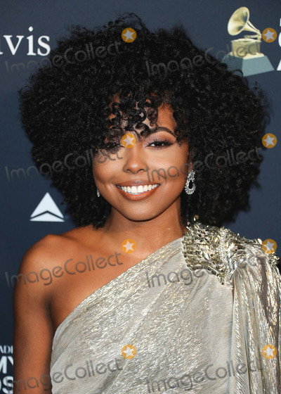 Adrienne Warren Photo - BEVERLY HILLS LOS ANGELES CALIFORNIA USA - JANUARY 25 Adrienne Warren arrives at The Recording Academy And Clive Davis 2020 Pre-GRAMMY Gala held at The Beverly Hilton Hotel on January 25 2020 in Beverly Hills Los Angeles California United States (Photo by Xavier CollinImage Press Agency)