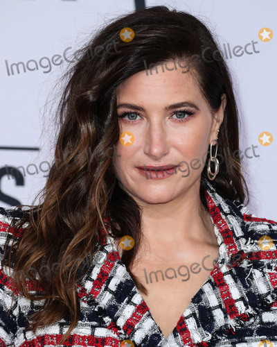 Kathryn Hahn Photo - LOS ANGELES CA USA - OCTOBER 09 Actress Kathryn Hahn wearing a Balmain dress Casadei shoes a La Regale clutch Annie Costello Brown earrings and Beladora rings arrives at the 2018 American Music Awards held at the Microsoft Theatre LA Live on October 9 2018 in Los Angeles California United States (Photo by Xavier CollinImage Press Agency)