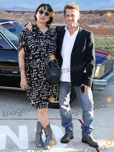 Alex Winter Photo - WESTWOOD LOS ANGELES CALIFORNIA USA - OCTOBER 07 Ramsey Ann Naito and Alex Winter arrive at the Los Angeles Premiere Of Netflixs El Camino A Breaking Bad Movie held at the Regency Village Theatre on October 7 2019 in Westwood Los Angeles California United States (Photo by Xavier CollinImage Press Agency)
