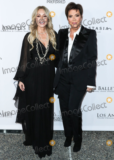 Anastasia Soare Photo - SANTA MONICA LOS ANGELES CALIFORNIA USA - FEBRUARY 28 Businesswoman Anastasia Soare and television personality Kris Jenner arrive at the Los Angeles Ballet Gala 2020 held at The Eli and Edythe Broad Stage at the Santa Monica College Performing Arts Center on February 28 2020 in Santa Monica Los Angeles California United States (Photo by Xavier CollinImage Press Agency)