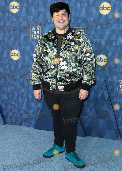 Harvey Guillen Photo - PASADENA LOS ANGELES CALIFORNIA USA - JANUARY 08 Actor Harvey Guillen arrives at ABC Televisions TCA Winter Press Tour 2020 held at The Langham Huntington Hotel on January 8 2020 in Pasadena Los Angeles California United States (Photo by Xavier CollinImage Press Agency)
