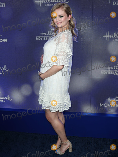 Andrea Brooks Photo - BEVERLY HILLS LOS ANGELES CALIFORNIA USA - JULY 26 Andrea Brooks arrives at the Hallmark Channel And Hallmark Movies And Mysteries Summer 2019 TCA Press Tour Event held at a Private Residence on July 26 2019 in Beverly Hills Los Angeles California United States (Photo by Xavier CollinImage Press Agency)