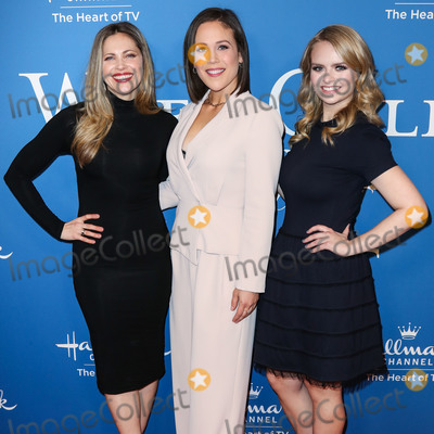 Erin Krakow Photo - BEVERLY HILLS LOS ANGELES CALIFORNIA USA - FEBRUARY 11 Pascale Hutton Erin Krakow and Andrea Brooks arrive at Hallmark Channels When Calls the Heart Season 7 Premiere Celebration held at the Beverly Wilshire A Four Seasons Hotel on February 11 2020 in Beverly Hills Los Angeles California United States (Photo by Xavier CollinImage Press Agency)