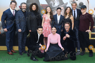 Selena Gomez Photo - WESTWOOD LOS ANGELES CALIFORNIA USA - JANUARY 11 John Cena Michael Sheen Donna Langley Carmel Laniado Harry Collett Susan Downey Stephen Gaghan Danny Elfman Rami Malek Selena Gomez and Robert Downey Jr arrive at the Los Angeles Premiere Of Universal Pictures Dolittle held at the Regency Village Theatre on January 11 2020 in Westwood Los Angeles California United States (Photo by Xavier CollinImage Press Agency)