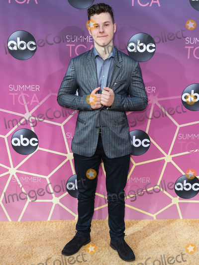 Nolan Gould Photo - WEST HOLLYWOOD LOS ANGELES CALIFORNIA USA - AUGUST 05 Actor Nolan Gould arrives at the Disney ABC Television Group TCA Summer Press Tour All-Star Party 2019 held at Soho House West Hollywood on August 5 2019 in West Hollywood Los Angeles California United States (Photo by Xavier CollinImage Press Agency)