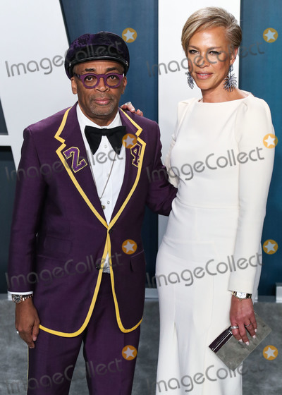 Spike Lee Photo - BEVERLY HILLS LOS ANGELES CALIFORNIA USA - FEBRUARY 09 Spike Lee and Tonya Lewis Lee arrive at the 2020 Vanity Fair Oscar Party held at the Wallis Annenberg Center for the Performing Arts on February 9 2020 in Beverly Hills Los Angeles California United States (Photo by Xavier CollinImage Press Agency)