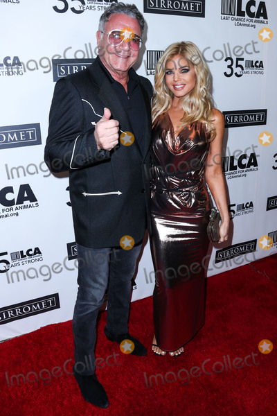 Frank Stallone Photo - BEVERLY HILLS LOS ANGELES CALIFORNIA USA - OCTOBER 19 Frank Stallone and Donna DErrico arrive at the Last Chance For Animals 35th Anniversary Gala held at The Beverly Hilton Hotel on October 19 2019 in Beverly Hills Los Angeles California United States (Photo by Xavier CollinImage Press Agency)