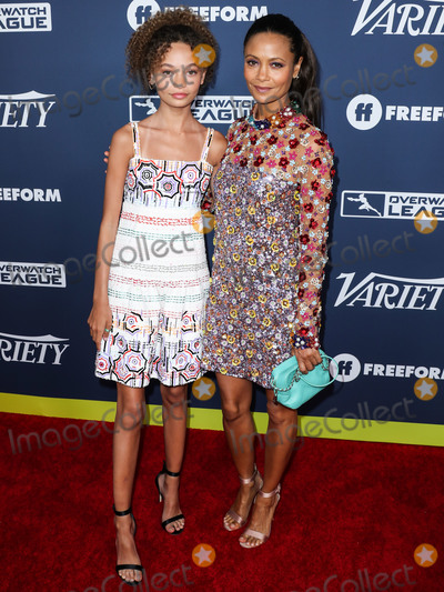 Nico Photo - HOLLYWOOD LOS ANGELES CALIFORNIA USA - AUGUST 06 Actress Nico Parker and motheractress Thandie Newton arrive at Varietys Power Of Young Hollywood 2019 held at the h Club Los Angeles on August 6 2019 in Hollywood Los Angeles California United States (Photo by Xavier CollinImage Press Agency)