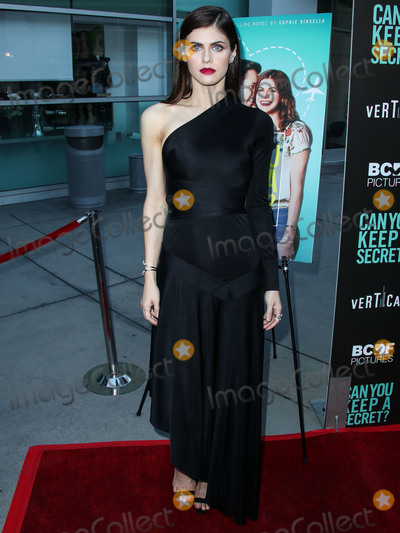Alexandra Daddario Photo - HOLLYWOOD LOS ANGELES CALIFORNIA USA - AUGUST 28 Actress Alexandra Daddario arrives at the Los Angeles Premiere Of Vertical Entertainments Can You Keep A Secret held at ArcLight Cinemas Hollywood on August 28 2019 in Hollywood Los Angeles California United States (Photo by Xavier CollinImage Press Agency)