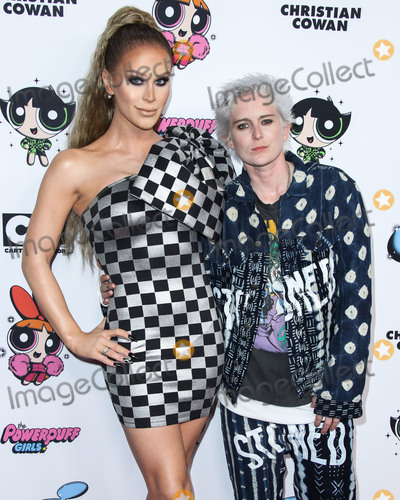 Gigi Gorgeous Photo - HOLLYWOOD LOS ANGELES CALIFORNIA USA - MARCH 08 Gigi Gorgeous and Nats Getty arrive at the 2020 Christian Cowan x Powerpuff Girls Runway Show Season II held at NeueHouse Los Angeles on March 8 2020 in Hollywood Los Angeles California United States (Photo by Xavier CollinImage Press Agency)