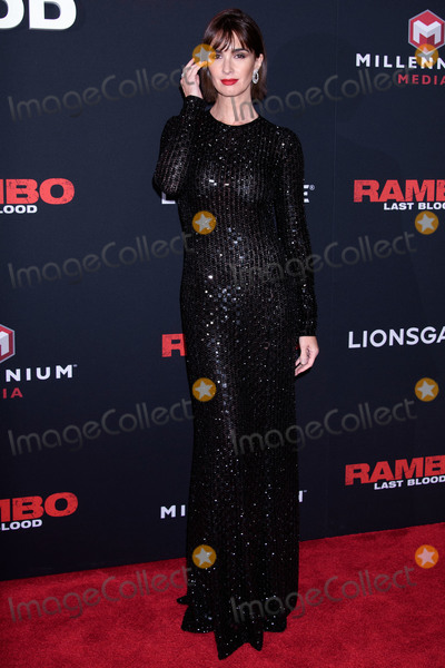 Paz Vega Photo - MANHATTAN NEW YORK CITY NEW YORK USA - SEPTEMBER 18 Actress Paz Vega arrives at the New York Screening And Fan Event For Rambo Last Blood held at the AMC Lincoln Square Theater on September 18 2019 in Manhattan New York City New York United States (Photo by Image Press Agency)