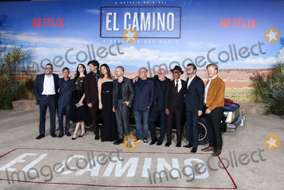 Betsy Brandt Photo - WESTWOOD LOS ANGELES CALIFORNIA USA - OCTOBER 07 Vince Gilligan Charles Baker Krysten Ritter Matt Jones Betsy Brandt Aaron Paul Dean Norris Jonathan Banks Giancarlo Esposito Bryan Cranston and Jesse Plemons arrive at the Los Angeles Premiere Of Netflixs El Camino A Breaking Bad Movie held at the Regency Village Theatre on October 7 2019 in Westwood Los Angeles California United States (Photo by Xavier CollinImage Press Agency)