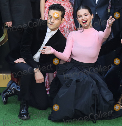 Selena Gomez Photo - WESTWOOD LOS ANGELES CALIFORNIA USA - JANUARY 11 Rami Malek and Selena Gomez arrive at the Los Angeles Premiere Of Universal Pictures Dolittle held at the Regency Village Theatre on January 11 2020 in Westwood Los Angeles California United States (Photo by Xavier CollinImage Press Agency)