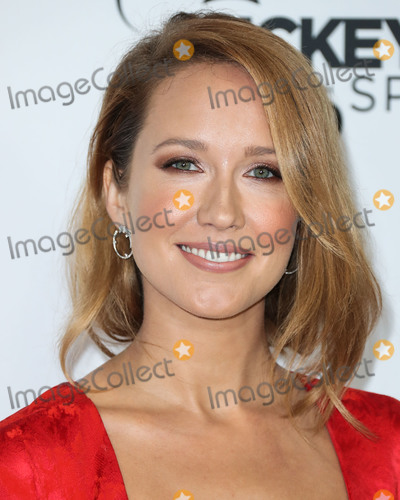 Anna Camp Photo - LOS ANGELES CA USA - OCTOBER 06 Anna Camp at Mickeys 90th Spectacular held at The Shrine Auditorium and Expo Hall on October 6 2018 in Los Angeles California United States (Photo by Xavier CollinImage Press Agency)