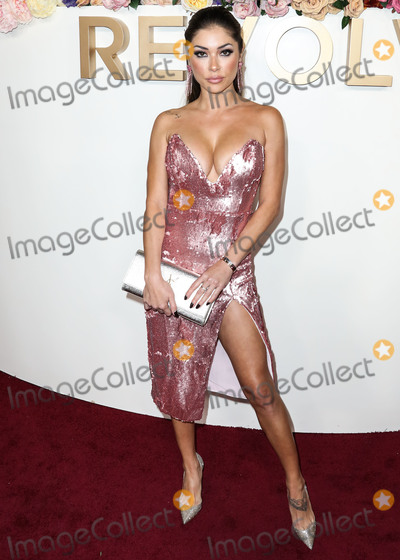 Arianny Celeste Photo - HOLLYWOOD LOS ANGELES CALIFORNIA USA - NOVEMBER 15 Arianny Celeste arrives at the 3rd Annual REVOLVEawards 2019 held at Goya Studios on November 15 2019 in Hollywood Los Angeles California United States (Photo by Xavier CollinImage Press Agency)