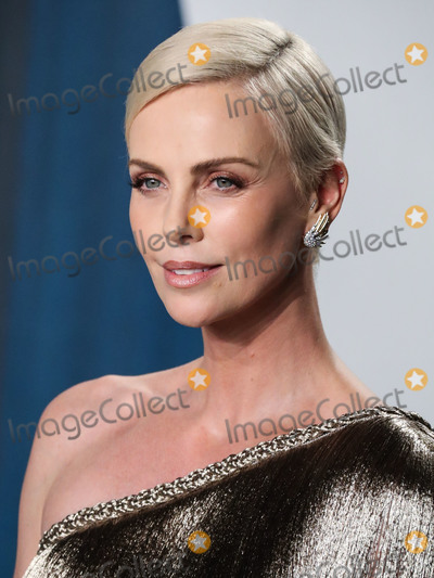 Charlize Theron Photo - (FILE) Charlize Theron Announces 1 Million Dollar Donation Amid Coronavirus COVID-19 Pandemic Charlize Theron has donated 1 million dollars to the coronavirus relief efforts through her foundation The Charlize Theron Africa Outreach Project and partners CARE and the Entertainment Industry Foundation (EIF) BEVERLY HILLS LOS ANGELES CALIFORNIA USA - FEBRUARY 09 Actress Charlize Theron wearing Dior Haute Couture with Jimmy Choo shoes and clutch arrives at the 2020 Vanity Fair Oscar Party held at the Wallis Annenberg Center for the Performing Arts on February 9 2020 in Beverly Hills Los Angeles California United States (Photo by Xavier CollinImage Press Agency)