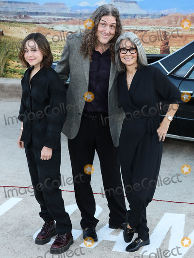 Al Yankovic Photo - WESTWOOD LOS ANGELES CALIFORNIA USA - OCTOBER 07 Nina Yankovic Weird Al Yankovic and Suzanne Yankovic arrive at the Los Angeles Premiere Of Netflixs El Camino A Breaking Bad Movie held at the Regency Village Theatre on October 7 2019 in Westwood Los Angeles California United States (Photo by Xavier CollinImage Press Agency)
