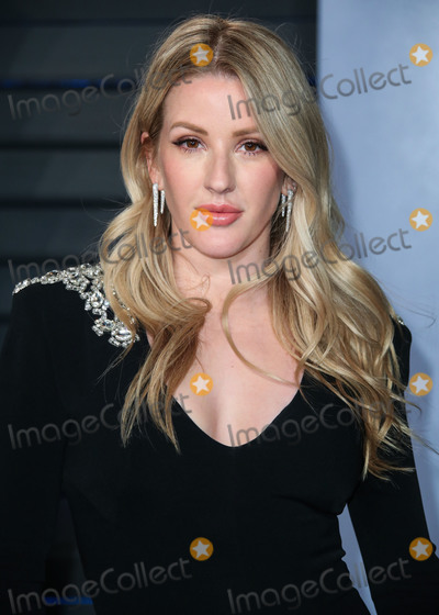 Wallis Annenberg Photo - (FILE) Ellie Goulding Marries Caspar Jopling in England BEVERLY HILLS LOS ANGELES CALIFORNIA USA - MARCH 04 Singer Ellie Goulding wearing a Jenny Packham gown arrives at the 2018 Vanity Fair Oscar Party held at the Wallis Annenberg Center for the Performing Arts on March 4 2018 in Beverly Hills Los Angeles California United States (Photo by Xavier CollinImage Press Agency)
