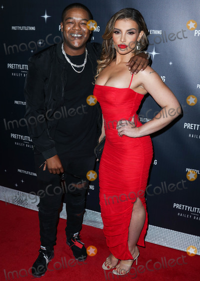 Kyle Massey Photo - WEST HOLLYWOOD LOS ANGELES CA USA - NOVEMBER 05 Kyle Massey Hana Giraldo at the PrettyLittleThing X Hailey Baldwin Launch Event held at Catch LA Restaurant on November 5 2018 in West Hollywood Los Angeles California United States (Photo by Xavier CollinImage Press Agency)