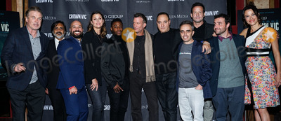 Bridget Moynahan Photo - MANHATTAN NEW YORK CITY NEW YORK USA - NOVEMBER 06 Alec Baldwin Anjul Nigam Alex Perez Bridget Moynahan Chris Jarell Thomas Jane Gregg Bello Joel Souza Josh Hopkins David Krumholtz and Scottie Thompson arrive at the New York Special Screening Of Screen Media Films Crown Vic held at the Village East Cinema on November 6 2019 in Manhattan New York City New York United States (Photo by William PerezImage Press Agency)