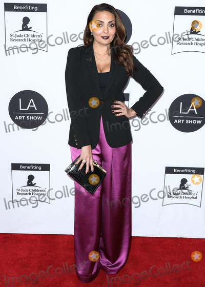Allegra Riggio Photo - LOS ANGELES CALIFORNIA USA - FEBRUARY 05 Actress Allegra Riggio arrives at the Los Angeles Art Show 2020 Opening Night Gala held at the Los Angeles Convention Center on February 5 2020 in Los Angeles California United States (Photo by Xavier CollinImage Press Agency)
