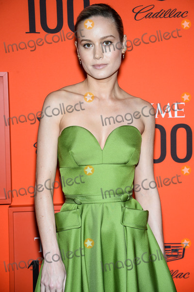 Brie Larson Photo - MANHATTAN NEW YORK CITY NEW YORK USA - APRIL 23 Actress Brie Larson wearing Prada arrives at the 2019 Time 100 Gala held at the Frederick P Rose Hall at Jazz At Lincoln Center on April 23 2019 in Manhattan New York City New York United States (Photo by Image Press Agency)