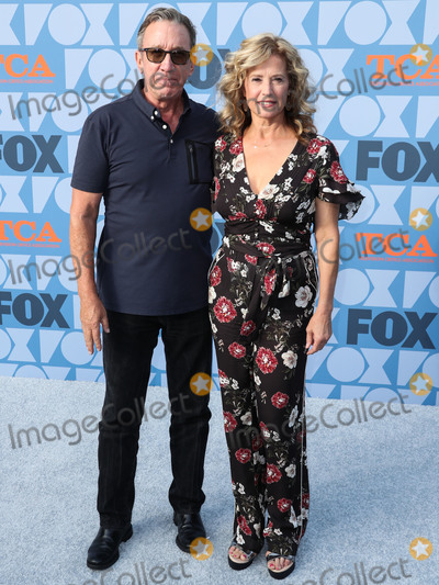 Nancy Travis Photo - LOS ANGELES CALIFORNIA USA - AUGUST 07 Actor Tim Allen and actress Nancy Travis arrive at the FOX Summer TCA 2019 All-Star Party held at Fox Studios on August 7 2019 in Los Angeles California United States (Photo by Xavier CollinImage Press Agency)