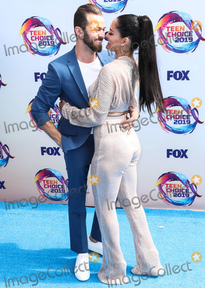Artem Chigvintsev Photo - HERMOSA BEACH LOS ANGELES CALIFORNIA USA - AUGUST 11 Artem Chigvintsev and Nikki Bella arrive at FOXs Teen Choice Awards 2019 held at the Hermosa Beach Pier Plaza on August 11 2019 in Hermosa Beach Los Angeles California United States (Photo by Xavier CollinImage Press Agency)