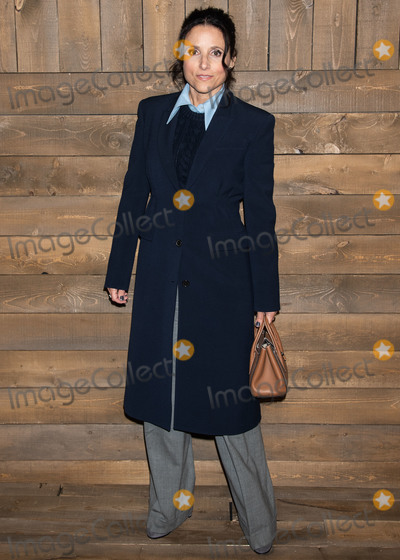 Michael Kors Photo - MANHATTAN NEW YORK CITY NEW YORK USA - FEBRUARY 12 Actress Julia Louis-Dreyfus arrives at the Michael Kors Collection FallWinter 2020 Runway Show - February 2020 during New York Fashion Week held at the American Stock Exchange on February 12 2020 in Manhattan New York City New York United States (Photo by Image Press Agency)