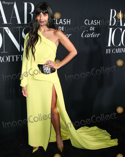 Jameela Jamil Photo - MANHATTAN NEW YORK CITY NEW YORK USA - SEPTEMBER 06 Jameela Jamil arrives at the 2019 Harpers BAZAAR Celebration of ICONS By Carine Roitfeld held at The Plaza Hotel on September 6 2019 in Manhattan New York City New York United States (Photo by Xavier CollinImage Press Agency)