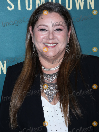 Camryn Manheim Photo - LOS ANGELES CALIFORNIA USA - SEPTEMBER 16 Actress Camryn Manheim arrives at the Los Angeles Premiere Of ABCs Stumptown held at Petersen Automotive Museum on September 16 2019 in Los Angeles California United States (Photo by Xavier CollinImage Press Agency)