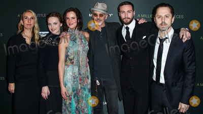 Aaron Taylor-Johnson Photo - WEST HOLLYWOOD LOS ANGELES CALIFORNIA USA - DECEMBER 04 Samantha Taylor-Johnson Odessa Young Billy Bob Thornton Aaron Taylor-Johnson Giovanni Ribisi and Juliette Lewis arrive at the Los Angeles Special Screening Of Momentum Pictures A Million Little Pieces held at The London Hotel West Hollywood at Beverly Hills on December 4 2019 in West Hollywood Los Angeles California United States (Photo by Xavier CollinImage Press Agency)