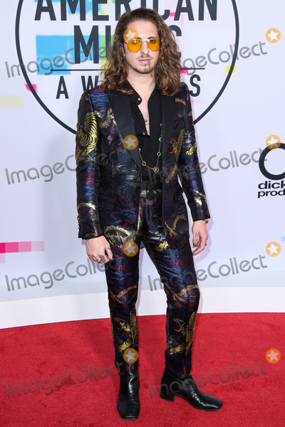 Andrew Watt Photo - (FILE) Andrew Watt Tests Positive for Coronavirus COVID-19 LOS ANGELES CALIFORNIA USA - NOVEMBER 19 Musician Andrew Watt (Andrew Wotman) arrives at the 2017 American Music Awards held at the Microsoft Theatre LA Live on November 19 2017 in Los Angeles California United States (Photo by Xavier CollinImage Press Agency)