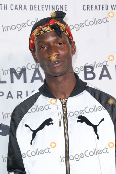 Adonis Bosso Photo - HOLLYWOOD LOS ANGELES CALIFORNIA USA - NOVEMBER 21 Adonis Bosso arrives at the PUMA x Balmain Launch Event held at Milk Studios on November 21 2019 in Hollywood Los Angeles California United States (Photo by Image Press Agency)