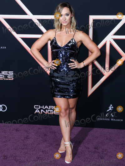 Alisha Marie Photo - WESTWOOD LOS ANGELES CALIFORNIA USA - NOVEMBER 11 Alisha Marie arrives at the Los Angeles Premiere Of Columbia Pictures Charlies Angels held at the Westwood Regency Theater on November 11 2019 in Westwood Los Angeles California United States (Photo by Xavier CollinImage Press Agency)