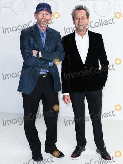 Ron Howard Photo - HOLLYWOOD LOS ANGELES CALIFORNIA USA - FEBRUARY 07 Ron Howard and Brian Grazer arrive at the Tom Ford AutumnWinter 2020 Fashion Show held at Milk Studios on February 7 2020 in Hollywood Los Angeles California United States (Photo by Xavier CollinImage Press Agency)