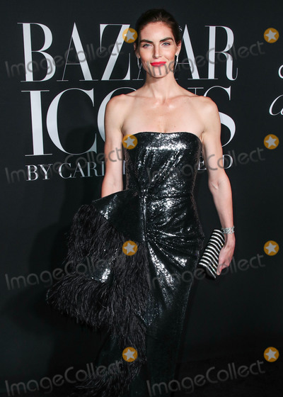 Hilary Rhoda Photo - MANHATTAN NEW YORK CITY NEW YORK USA - SEPTEMBER 06 Hilary Rhoda arrives at the 2019 Harpers BAZAAR Celebration of ICONS By Carine Roitfeld held at The Plaza Hotel on September 6 2019 in Manhattan New York City New York United States (Photo by Xavier CollinImage Press Agency)