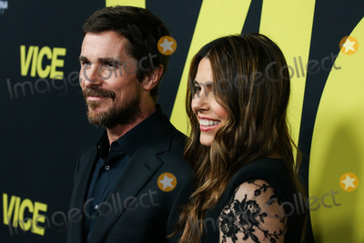 Sibi Blazic Photo - BEVERLY HILLS LOS ANGELES CA USA - DECEMBER 11 Christian Bale Sibi Blazic arrive at the World Premiere Of Annapurna Pictures Gary Sanchez Productions And Plan B Entertainments Vice held at the Samuel Goldwyn Theater at The Academy of Motion Picture Arts and Sciences on December 11 2018 in Beverly Hills Los Angeles California United States (Photo by Xavier CollinImage Press Agency)