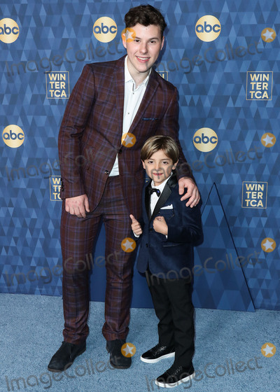 Nolan Gould Photo - PASADENA LOS ANGELES CALIFORNIA USA - JANUARY 08 Nolan Gould and Jeremy Maguire arrive at ABC Televisions TCA Winter Press Tour 2020 held at The Langham Huntington Hotel on January 8 2020 in Pasadena Los Angeles California United States (Photo by Xavier CollinImage Press Agency)